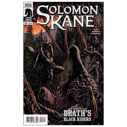 Solomon Kane: Death's Black Riders #3 Comic Book