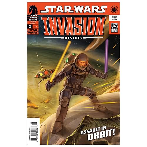 Star Wars: Invasion - Rescues #2 Comic Book