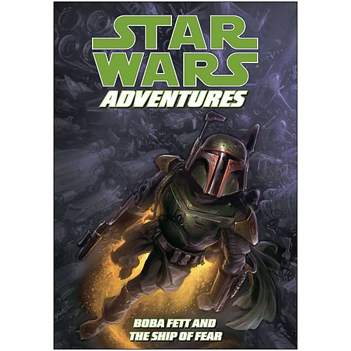 Star Wars Adventures: Boba Fett & Ship of Fear Graphic Novel