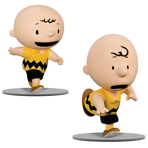 Peanuts Figure Then and Now Charlie Brown Figure Set