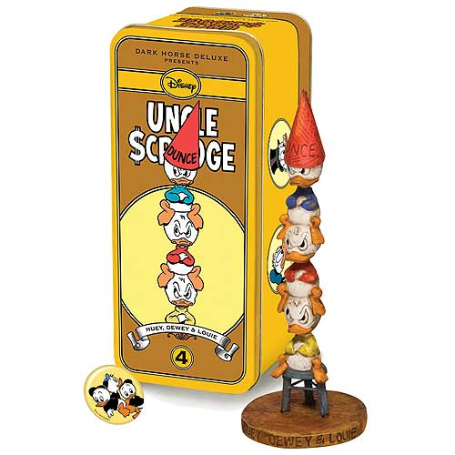 Disney Uncle Scrooge Huey Dewey and Louie Character Figure