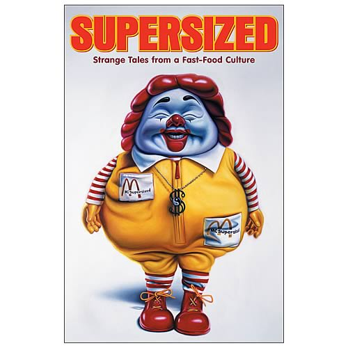 Supersized: Strange Tales From Fast Food Graphic Novel
