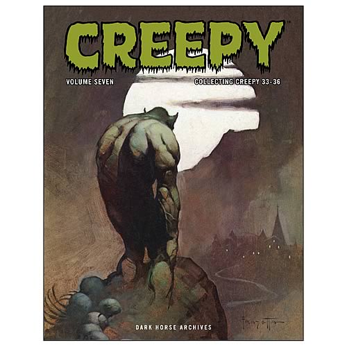 Creepy Archives Volume 7 Hardcover Graphic Novel