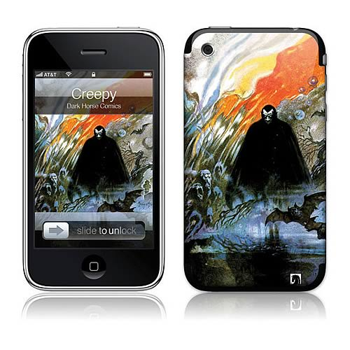 GelaSkins Creepy Frazetta's Dracula iPhone Skin