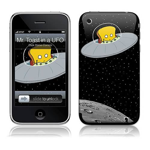GelaSkins Mr. Toast Spaceship iPhone Skin