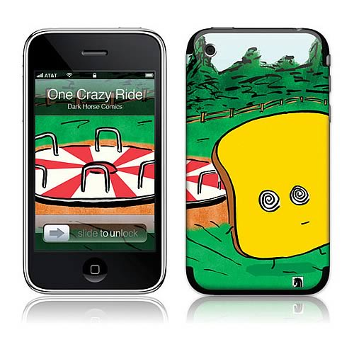 GelaSkins Mr. Toast One Crazy Ride iPhone Skin