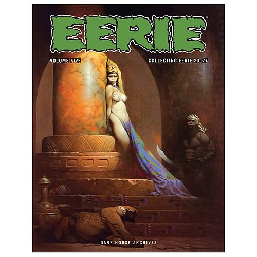 Eerie Archives Vol. 5 Hardcover Graphic Novel