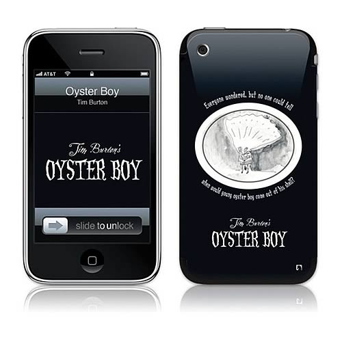 GelaSkins Tim Burton Oyster Boy iPhone Skin
