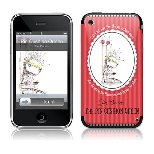 GelaSkins Tim Burton Pin Cushion Queen iPhone Skin