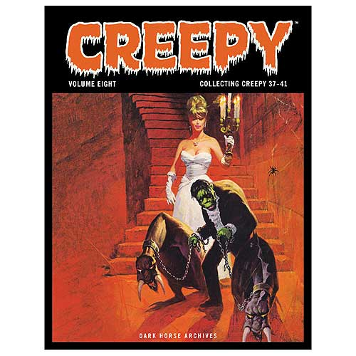 Creepy Archives Volume 8 Hardcover Graphic Novel