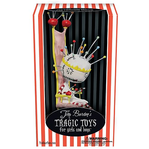Tim Burton Tragic Toys Pin Cushion Queen Vinyl Figure