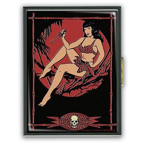 Bettie Page Jungle Night ID Case