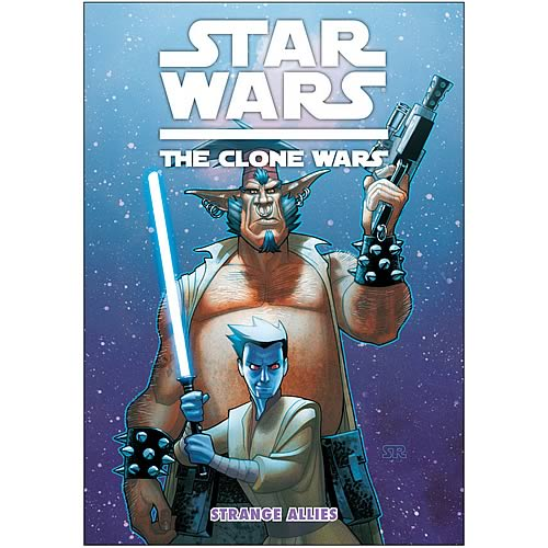 Star Wars: The Clone Wars Strange Allies Graphic Novel