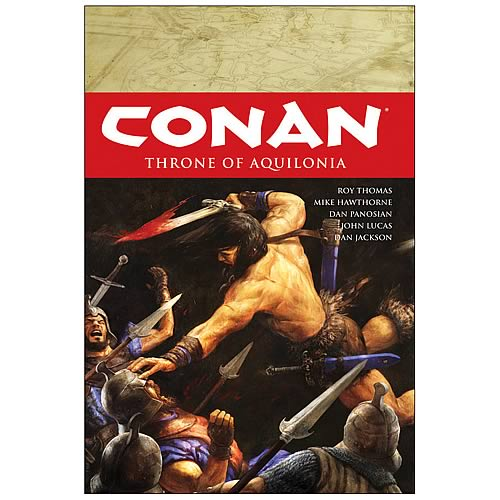 Conan Volume 12 Throne of Aquilonia Graphic Novel