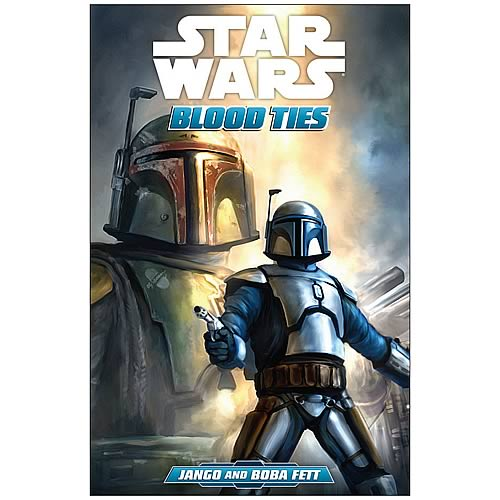 Star Wars: Blood Ties Jango and Boba Fett Graphic Novel