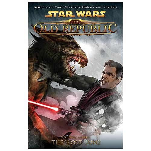 Star Wars The Old Republic Vol 3 The Lost Suns Graphic Novel