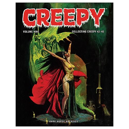 Creepy Archives Volume 9 Hardcover Graphic Novel
