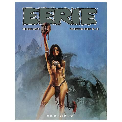 Eerie Archives Volume 7 Hardcover Graphic Novel