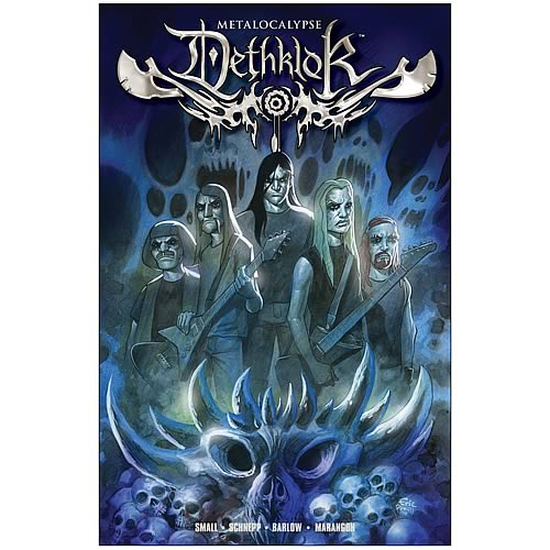 Metalocalypse Dethklok Hardcover Graphic Novel