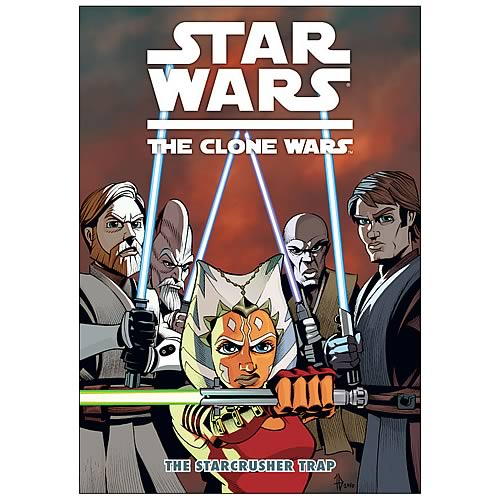 Star Wars: The Clone Wars Starcrusher Trap Graphic Novel