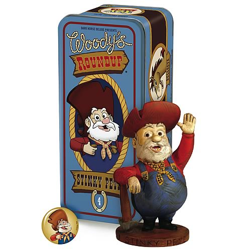 Toy Story Woody's Roundup Stinky Pete Character Statue