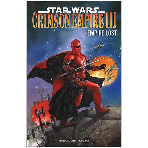 Star Wars Crimson Empire III Empire Lost Graphic Novel
