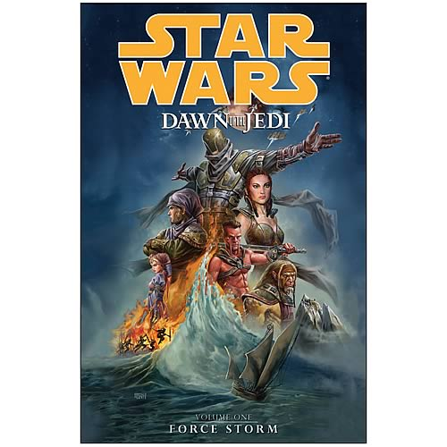 Star Wars Dawn of the Jedi Vol. 1 Force Storm Graphic Novel