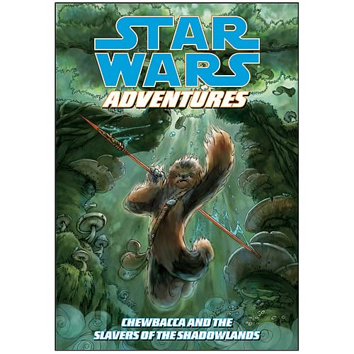 Star Wars Adventures: Slavers of Shadowlands Graphic Novel