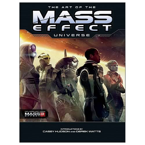 Art of the Mass Effect Universe Hardcover Graphic Novel