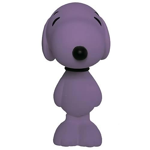 Peanuts Snoopy 8-Inch Violet Flocked Vinyl Figure