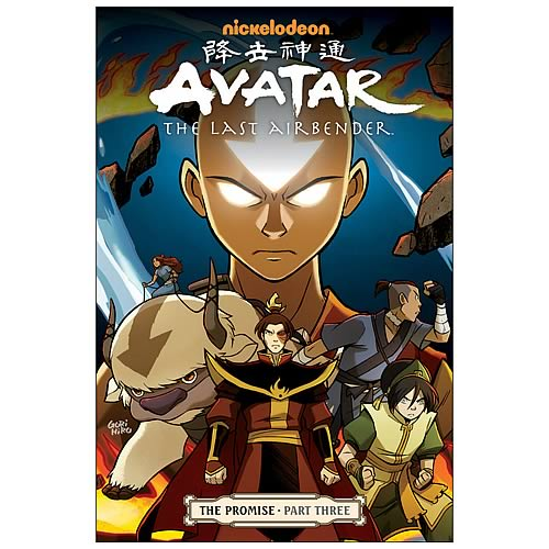 Avatar The Promise: Avatar: The Last Airbender The Promise Part 3 Graphic