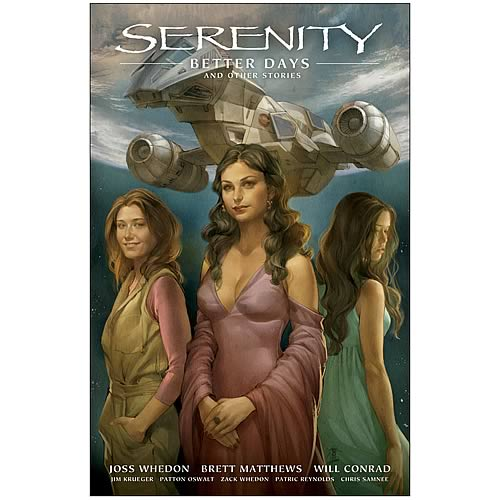 Serenity Volume 2 Better Days Hardcover Graphic Novel