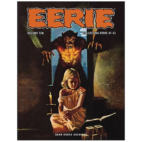 Eerie Archives Volume 10 Hardcover Graphic Novel