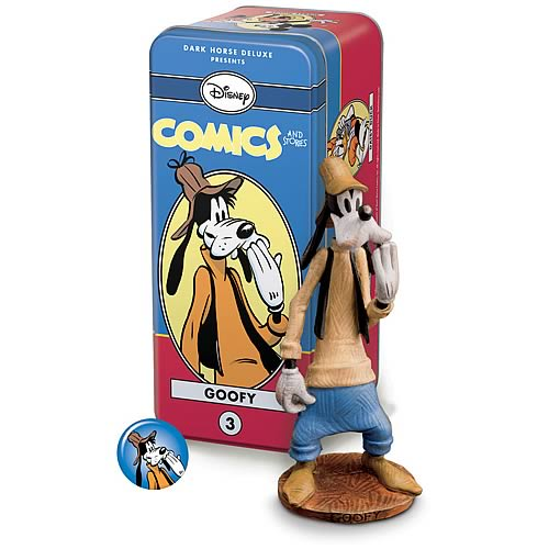 Disney Comics and Stories Characters Goofy Statue