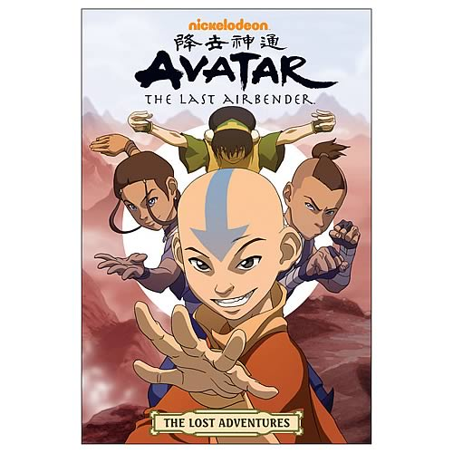 Avatar: The Last Airbender The Lost Adventures Graphic Novel