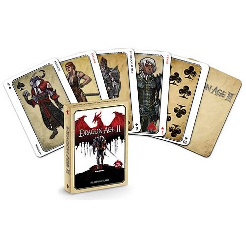 Dragon Age 2 Playing Cards