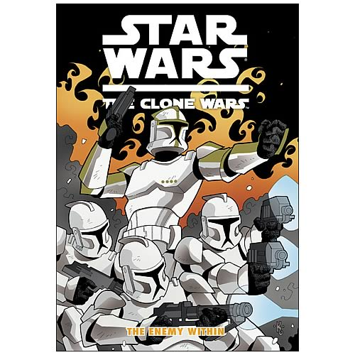 Star Wars Clone Wars Enemy Within Graphic Novel