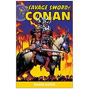 The Savage Sword of Conan Volume 11 Graphic Novel