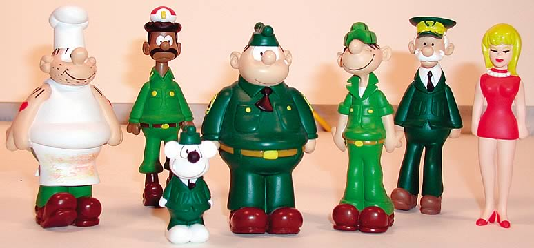 Beetle Bailey Boxed PVC Set