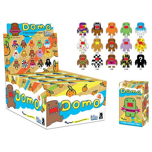 Domo Qee Mystery Series 4 Display