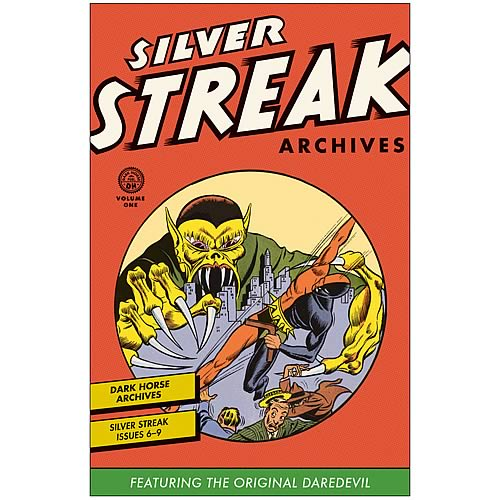 Silver Streak Archives Original Daredevil Volume 1 Book