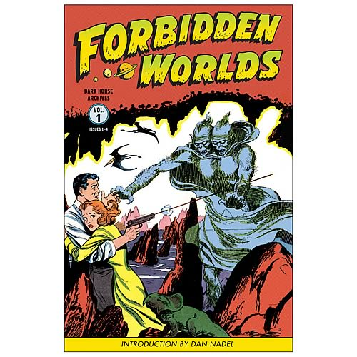 Forbidden Worlds Archives Volume 1 Hardcover Graphic Novel