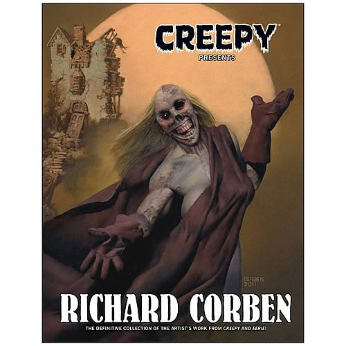 Creepy Presents Richard Corben Hardcover Graphic Novel
