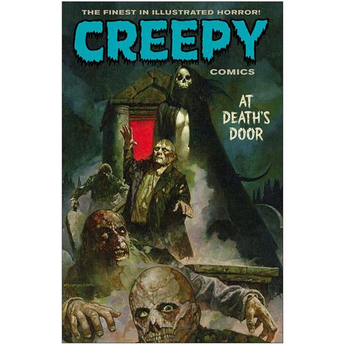 Creepy Comics At Death's Door Graphic Novel