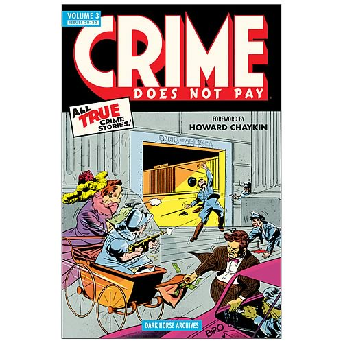 Crime Does Not Pay Archives Volume 3 Hardcover Graphic Novel