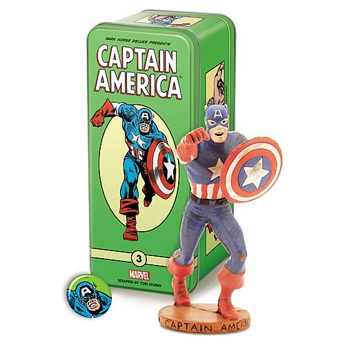 Marvel Classic Character Series 2 #3 Captain America Statue