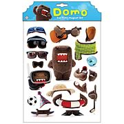 Domo Dress Up Magnet Set
