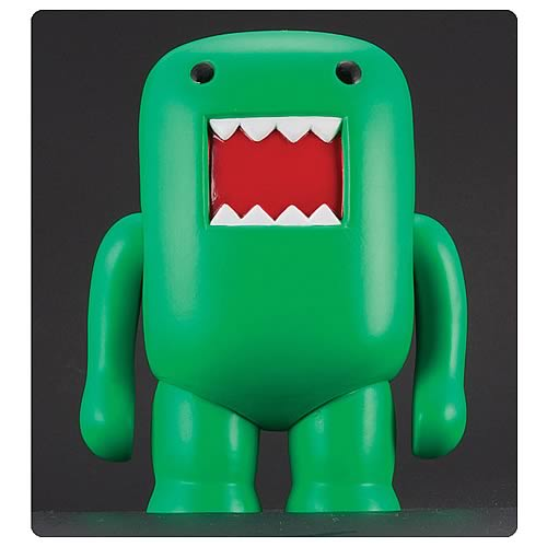 Domo 4-Inch Black Light Green Vinyl Figure