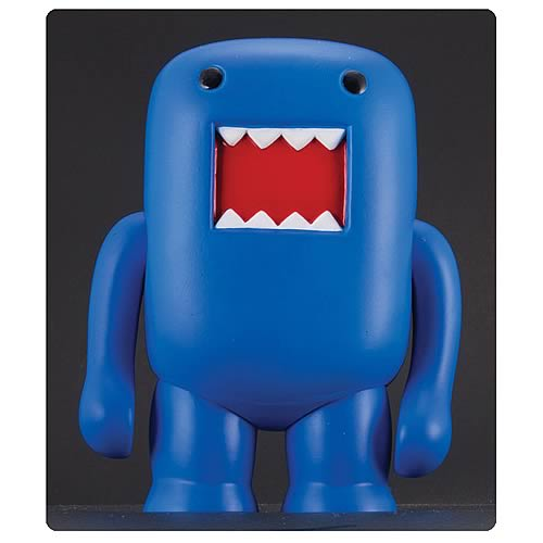 Domo 4-Inch Black Light Blue Vinyl Figure