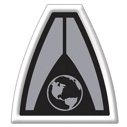 Mass Effect System Alliance Logo Embroidered Patch
